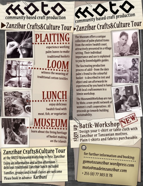 Zanzibar Crafts and Culture Tour